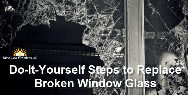 Replace Broken Window Glass